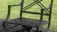 casual Awesome Metal Patio Chairs