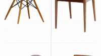 Zalora Awesome Mid Century Dining Chairs